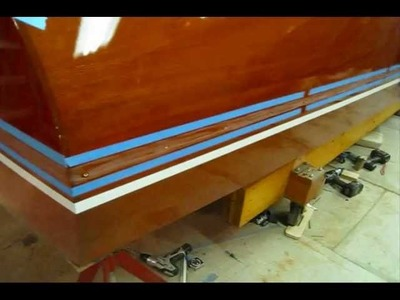 Installing New Spray Rails on Chris Craft (Preview)
