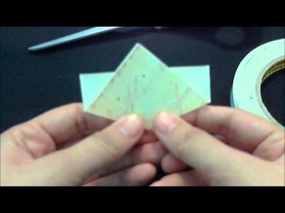 Kusudama Paper Flower Tutorial