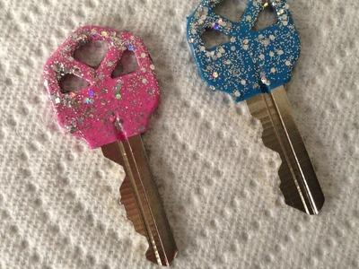 Make Fun Sparkly Glitter Keys - DIY Crafts - Guidecentral