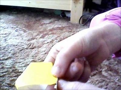 Making a 3D paper Pikachu
