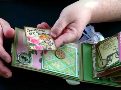 Marion Smith Never Grow Up Mini Album Country Craft Creations