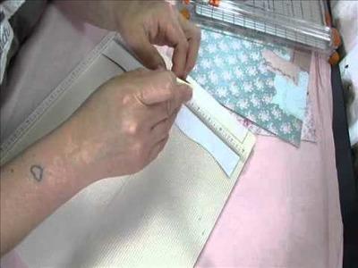Part 1 tutorial accordion heart paper embellishment