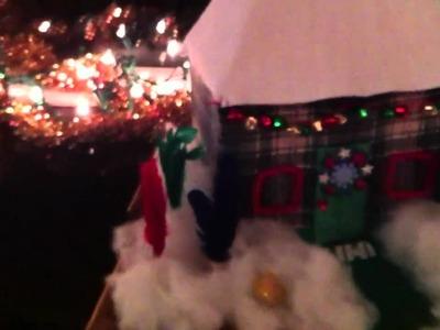 Rosie Radio Holiday Craft Contest: Derek's Holiday House