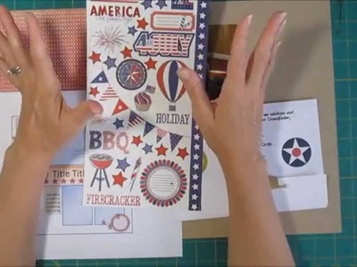 Scrapbooking Process - Stickers without Sneezing