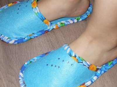 Sew Comfortable Slippers for a Girl - DIY Style - Guidecentral