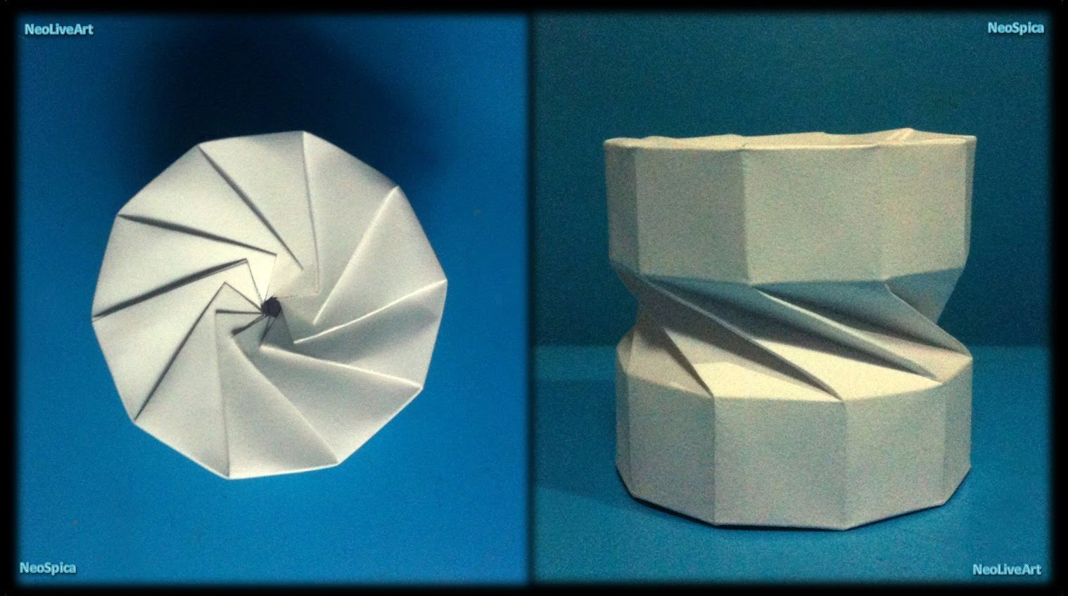 Tutorial 9 Collapsible Paper Column Helix Decagon