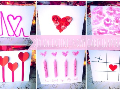 ♥ 8 DIY Valentine's Day Card Inspirations ♥