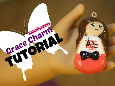 Charm Tutorial | American Girl Grace | GOTY 2015 | Polymer Clay | How to Make | Craft Idea