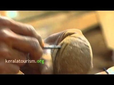 Coconut shell Handicraft Soap Holder