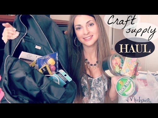 Craft Supply Haul - Michaels LA