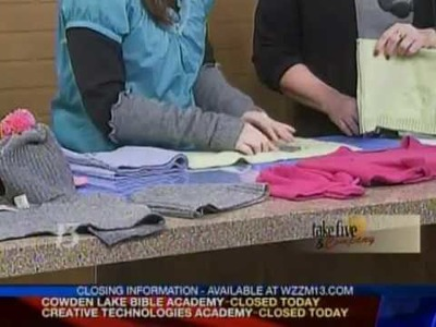 CraftSanity on TV: Creative uses for old wool sweaters