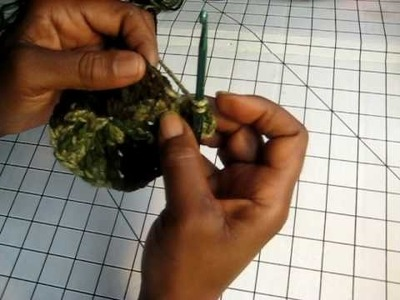Crochet a Tam hat Pt 2 of 5