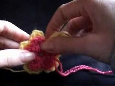 Crochet Layered Flower Part 2 of 3 Tutorial