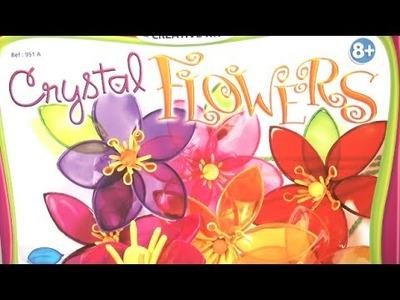 Crystal Flowers Craft Kit from Sentosphere