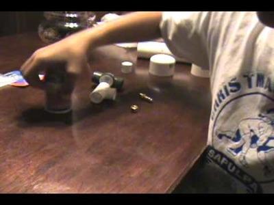 DIY a air compressed dart gun