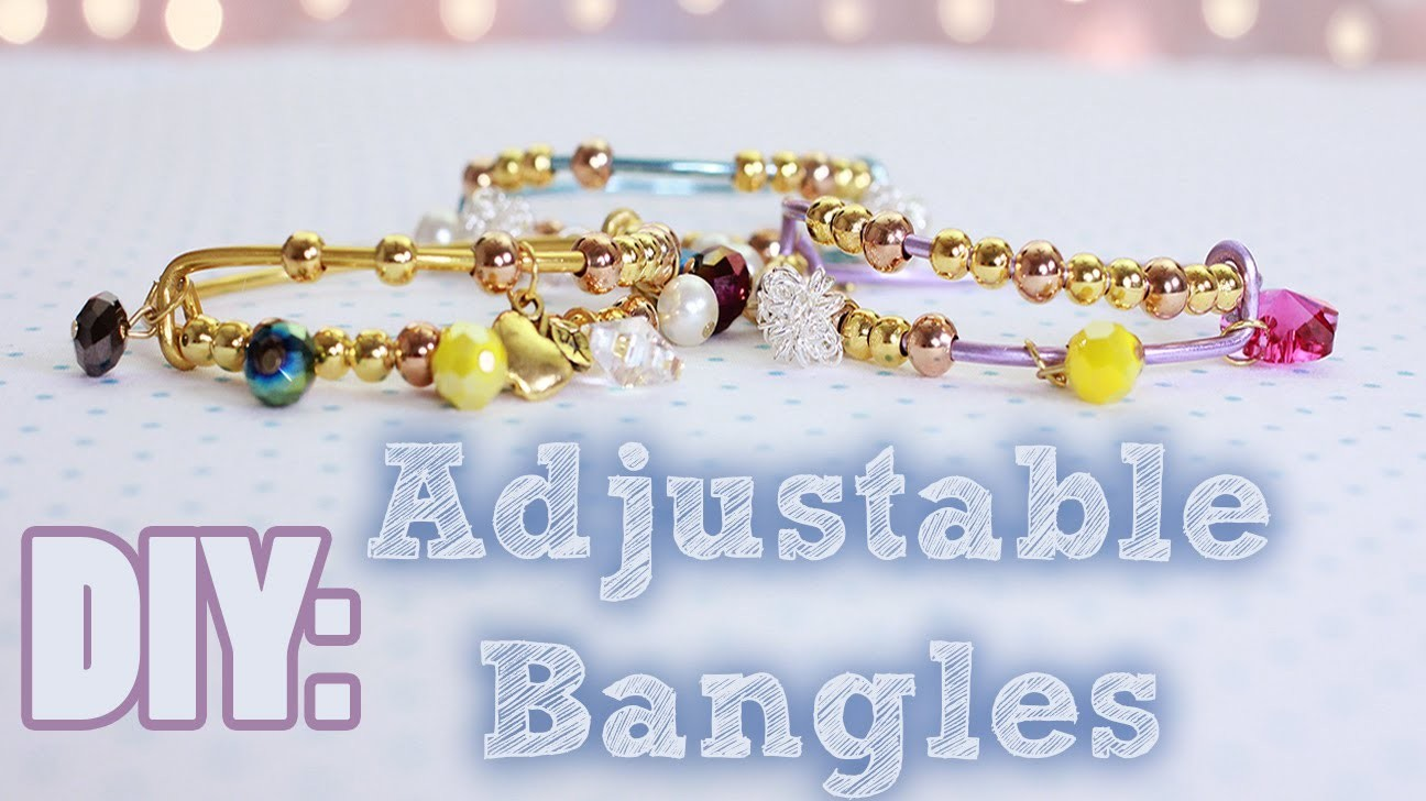 DIY Adjustable Bangles {Arm Candy.Party}