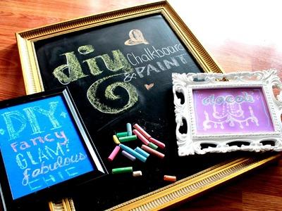 DIY: Chalkboard & Colored Chalkboard Paint !