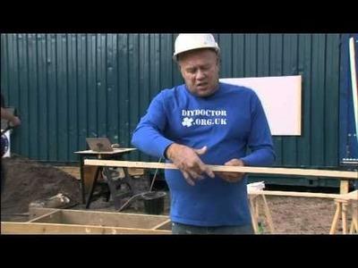 DIY Doctor Master Basic DIY: How to Concrete a foundation strip