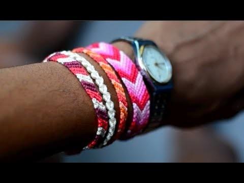 DIY Friendship Bracelet | Striped or Solid