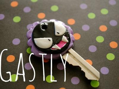 DIY: Ghastly Key Tutorial [Pokémon] Polymer Clay