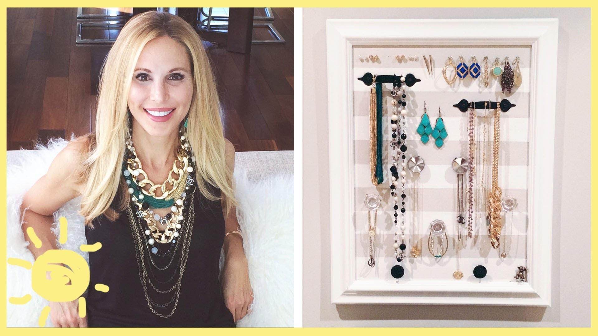 DIY | Jewelry Organizer (Cute and Easy!!)