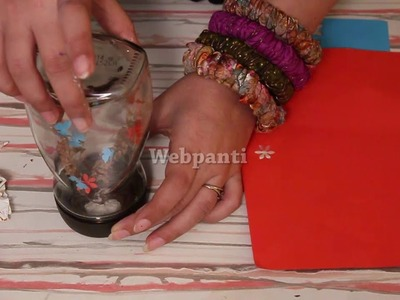 #DIY - Make a Beautiful Showpiece out of Waste Material by Bhakti Narang