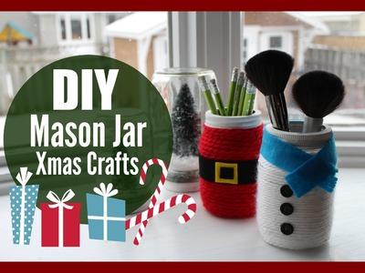 DIY Mason Jar Christmas Crafts with HealthNut Nutrition