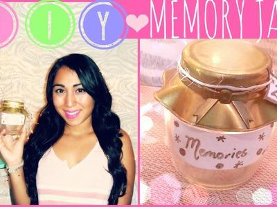 ♥ DIY Memory Jar ♥