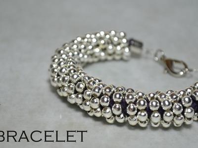 DIY silver bracelet