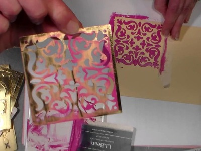 DIY stencil paste