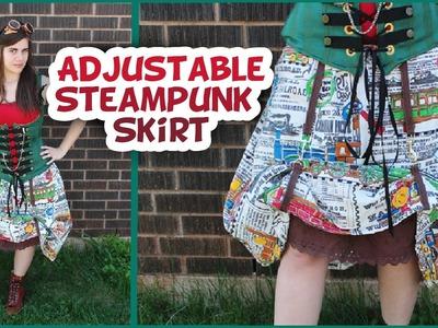 DIY Transforming Steampunk Skirt - Whitney Sews