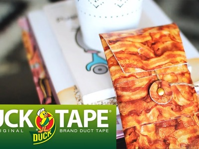 Duck Tape Craft Ideas with LaurDIY: Bacon Envelope