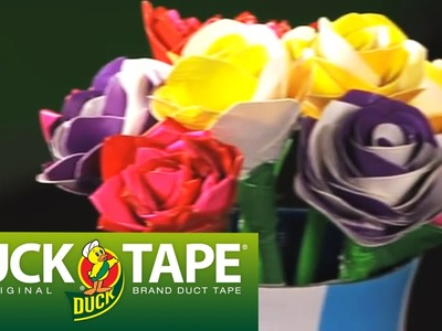 Duck Tape Crafts: How to Make a Rose