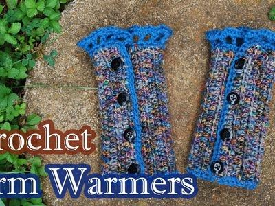 Easy Crochet Arm Wamers