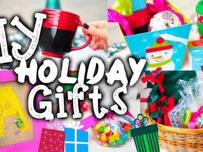 Easy DIY Christmas Gifts + Holiday Gift Guide!