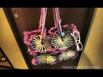 Hand Bag Made of CD's