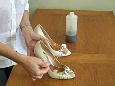 How to dye your wedding shoes - Lezustore TV Ep#4