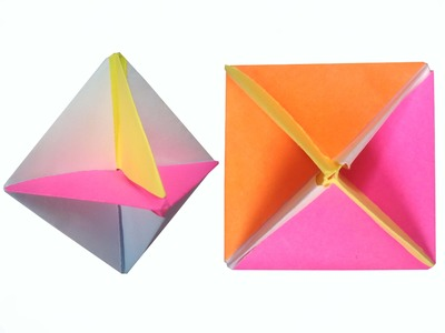 How to make Paper Modular Spinner ( very easy ) : DIY Crafts