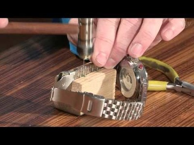 How to Remove a Watch Link - DIY Resize a Watch Band
