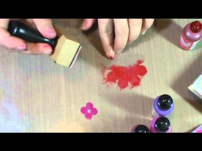 How to Use Alcohol Inks: Acetate Embellishments