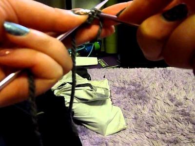 Knitting tutorial! Make a rectangle, whoohoo