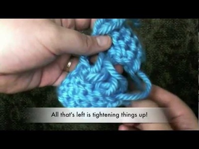 Loom Knit: Kitchener Stitch or invisible stitch (socks, panel, headband)