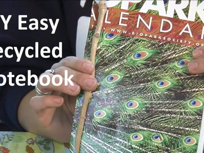 Make an Easy Notebook with Recycled Materials