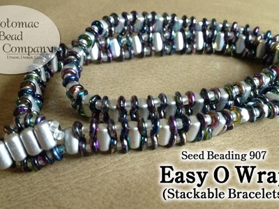 Make Easy O Stitch Stackable Bracelets