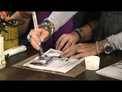 My Craft Channel: Art.Redefined Christy Tomlinson - Art Journals with Chrissy Gardner