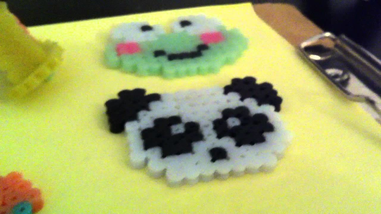 New perler beads creations that i have made :)