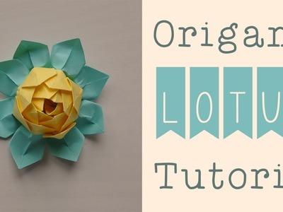 Origami Lotus Tutorial