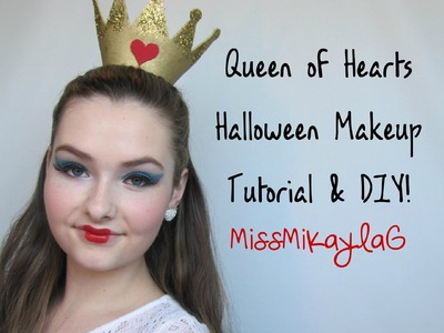 Queen of Hearts ♡ Halloween Tutorial & DIY! Collab with Beautiflynatural!