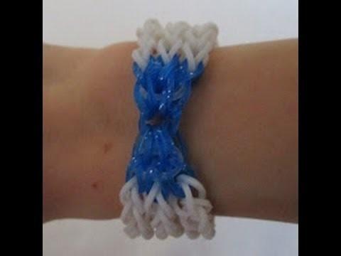 Rainbow Loom- How to make a Baby Bow Bracelet (Original Design)