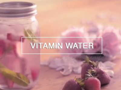 Real Vitamin Water in a Jar - Green Renaissance